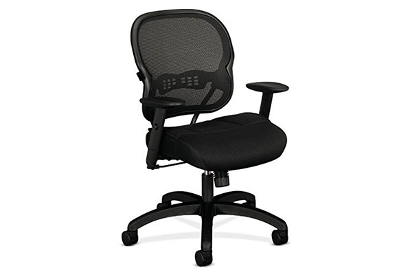 Office Chair For Short Person Reviews Basyx By Hon Vl712 Mid Back